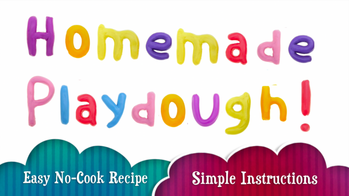 Homemade Playdough – A No Cook Playdough Recipe with Easy Instructions!