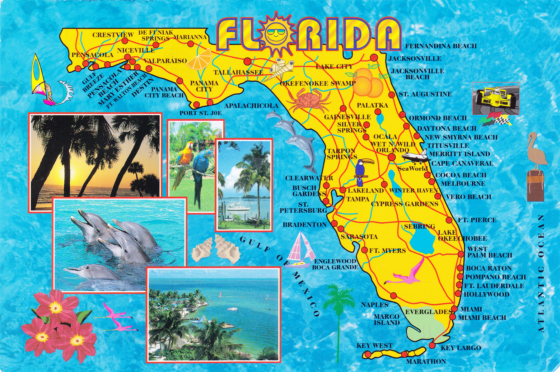 Florida Maps - Check out these great maps of Florida today.